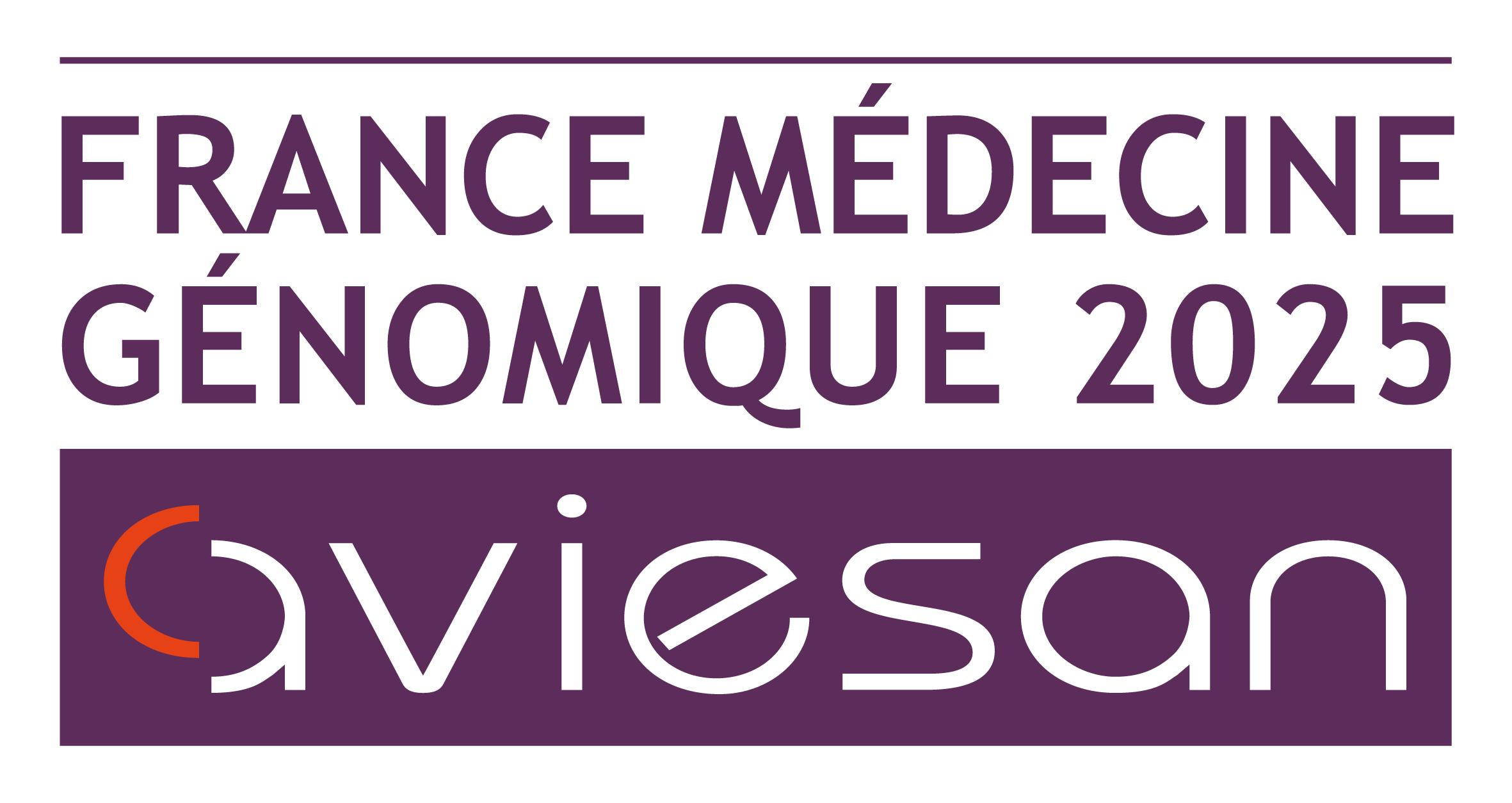 Logo Aviesan Plan France médecine génomique